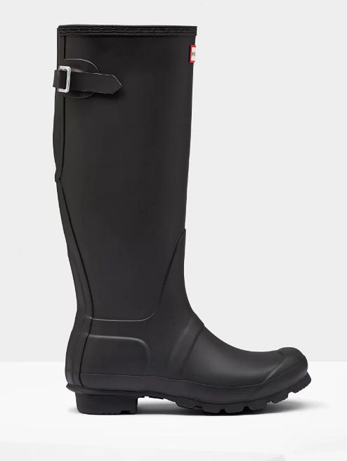 Back Adjustable Rain Boots