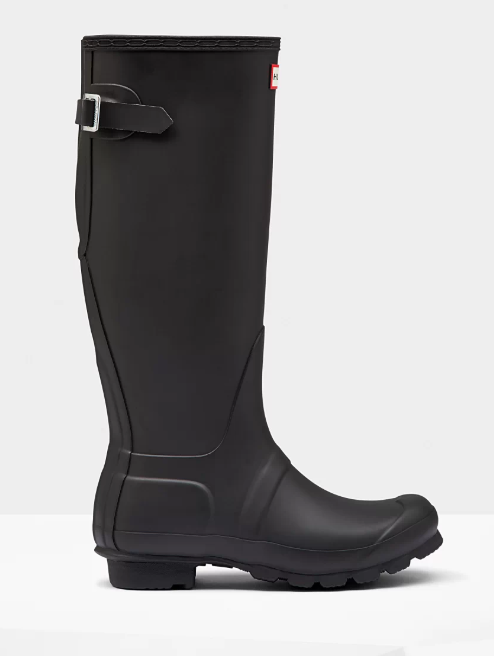 Women's Hunter 'Original Tall' Rain Boot, Size 10 M - Black