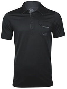 Oakley Men Must Have Golf Sports Dri Fit Short Sleeve Polo Button Shirt Apparel