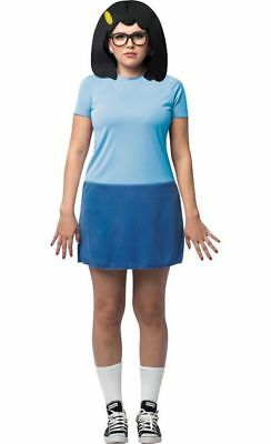 Bob's Burgers Tina Belcher Fits Sizes 4-10 Licenced Costume - Bob Belcher Costume