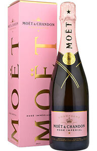 Moet & Chandon Rosé Imperial Rose Champagner 0,75 L mit GB Aktion
