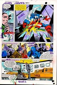 Original-Captain-America-Annual-5-Marvel-color-guide-art-page-Colan-Marvelmania