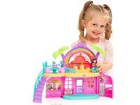 Dora the explorer musical singing playset toy cafe