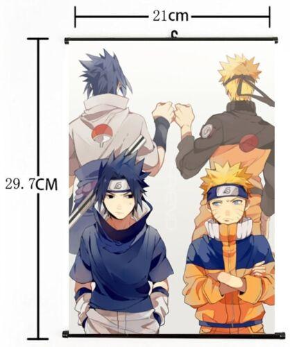 Hot Japan Anime NARUTO Home Decor Cosplay Wall Scroll Poster 21*30CM 03