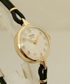 Tudor by Rolex 'Royal' Ladies Solid Gold Vintage Watch 1961