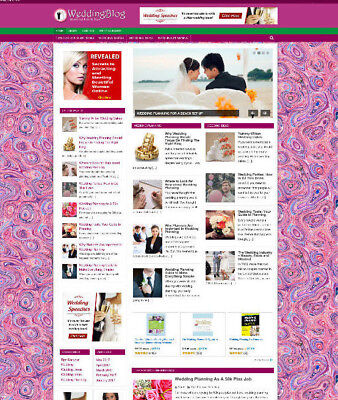 Wedding Tips Store Website Affiliate - Video Pages - Professional Design