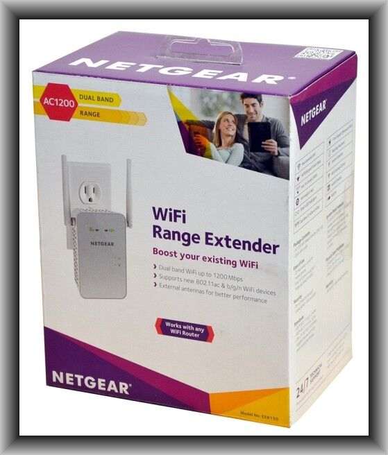 Netgear EX6150  Dual-Band Wireless Range Extender in Retail