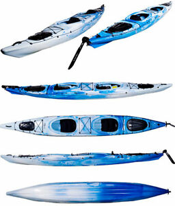 Riot Polarity 16.5' Tandem (Double) Sea Kayak - 40% off Retail