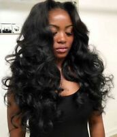 Install Full Lace Wig Braidless Sew In MicroLinks EuroLocs Weave