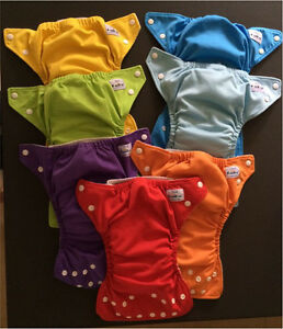Fuzzibunz cloth diapers, 7 size small Gatineau Ottawa / Gatineau Area image 1