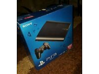 Boxed ps3 superslim 500gb