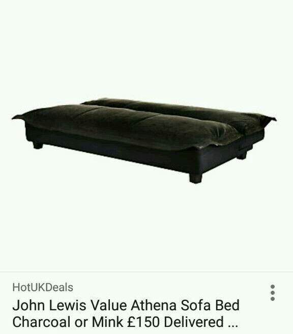 John Lewis Sofa bed Athena Brown   in Cardonald, Glasgow   Gumtree