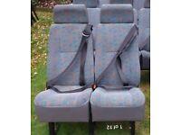 14 MINIBUS SEATS £25 EACH