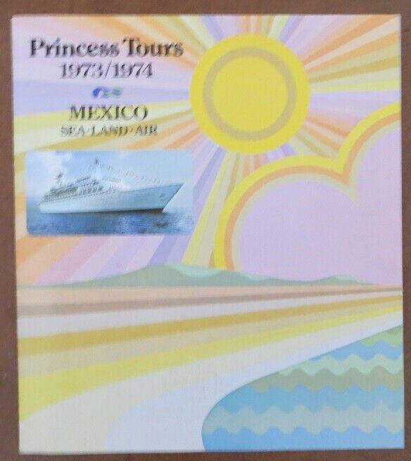 ISLAND PRINCESS (Princess) Booklet with DECK PLAN and PHOTOS