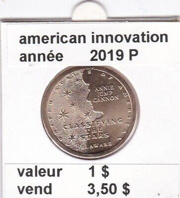 e 3 )pieces de 1 dollar de 2019 P premier de une serie 4