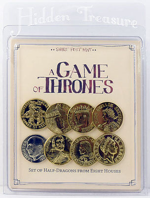 A Game of Thrones SET of HALF-DRAGONS from EIGHT HOUSES