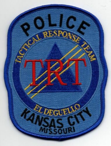 MISSOURI MO KANSAS CITY POLICE TACTICAL RESPONSE TEAM NICE PATCH SHERIFF 2 OF 2