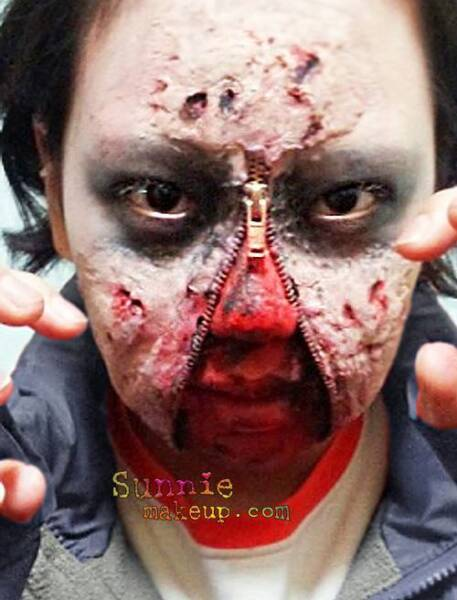 Zombie Halloween Makeup Special Effects Special Effects Zombie
