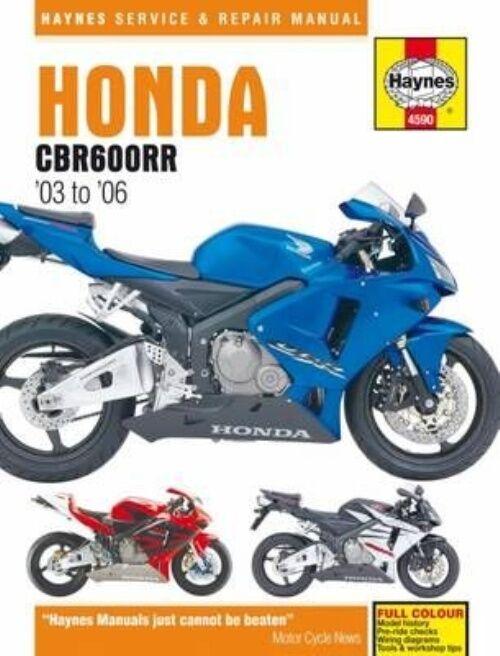 Haynes Manual Honda CBR600RR 2003-06 599cc Workshop Manual