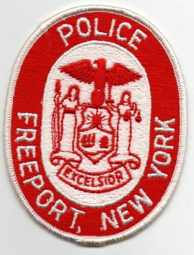 NEW YORK FREEPORT POLICE NICE PATCH SHERIFF