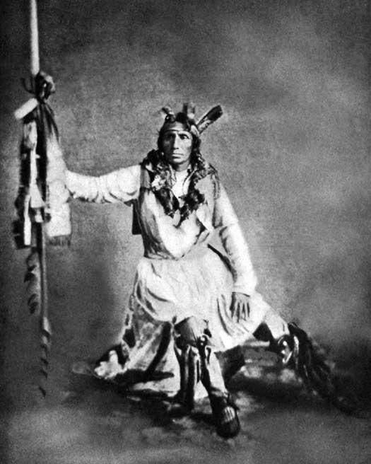 Native American Indians CHIEF LITTLE CROW Glossy 8x10 Photo Dakota Tribe Print