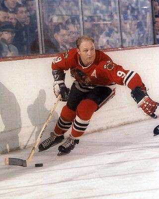 - Chicago Blackhawks BOBBY HULL Glossy 8x10 Photo NHL Hockey Print Poster