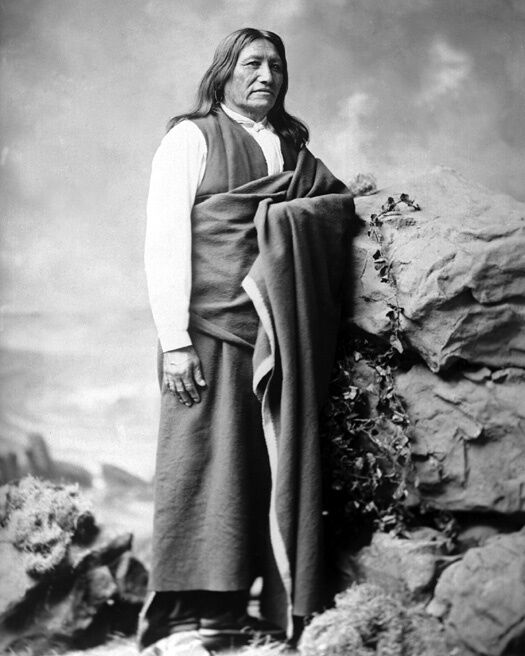 Native American Indian CHIEF SPOTTED TAIL Glossy 8x10 Photo Brule Lakota Print