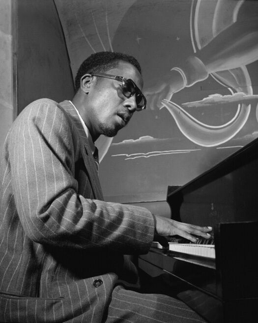 1947 Jazz Artist THELONIOUS MONK Glossy 8x10 Photo Glossy Print Pianist Poster