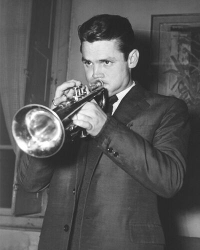Cool Jazz CHET BAKER 8x10 Photo Music Print Entertainment Glossy Poster Trumpet