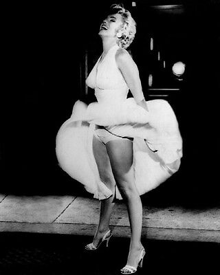1955 The Seven Year Itch Marilyn Monroe Glossy 8X10 Photo Film Print Poster