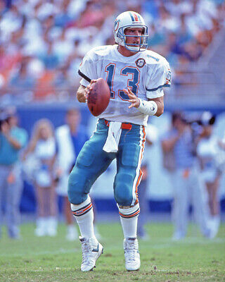 1990 Miami Dolphins DAN MARINO Glossy 8x10 Photo NFL Football Print (Marino Miami Dolphins Nfl Football)