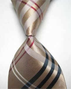 BRAND NEW Necktie/Bowtie with Burberry-Plaid Print