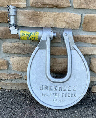 Greenlee 1731 C-frame Hydraulic Knockout Punch Driver 1