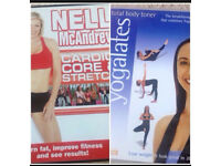 Exercise DVD's x 2