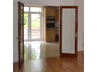 Solid oak French doors (fully glazed)