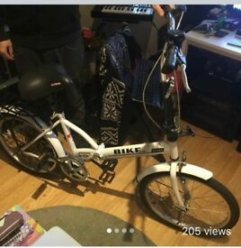 Fix Gear Foldable Bike £80