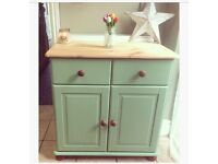 Pretty upcycled sideboard cabinet