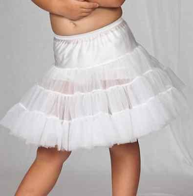 Girls Half Slip Bouffant Petticoat Crinoline 2T-14 Ruffles Layers](Girls Petticoat)