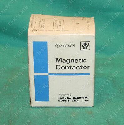 Kasuga MUF10-4 KIUL Magnetic Contactor 50V 50/60Hz