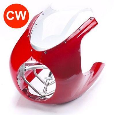 TRIUMPH DIABLO RED CAFE RACER FAIRING KIT   THRUXTON R   A9708522 CW