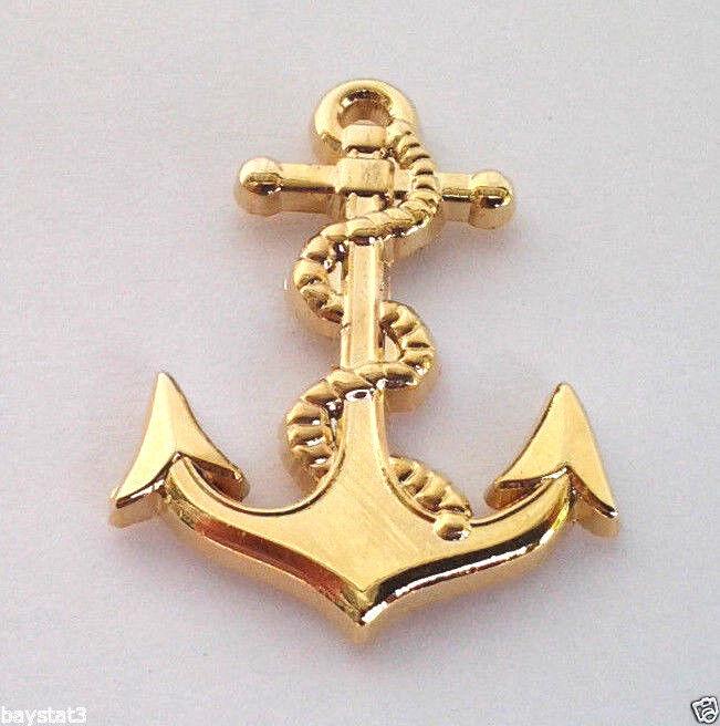 US NAVY ANCHOR   Military Hero Hat Pin P14085 EE