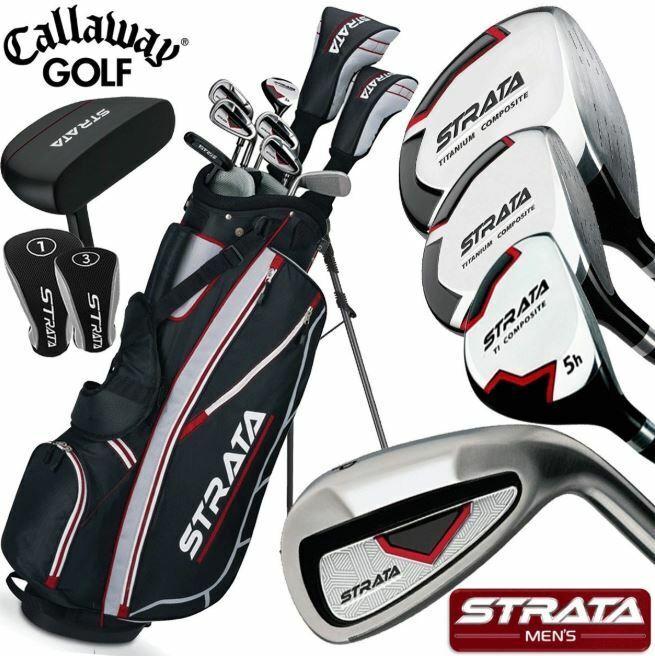 Callaway Men's Strata Complete Golf Club Set with Bag
