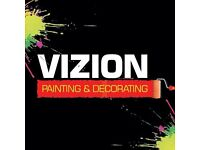 Vizion Painting and decorating - Interior and exterior work completed with a professional finish