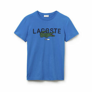 Lacoste Logo Graphic Crew Neck Men Tee - Brand new with tag