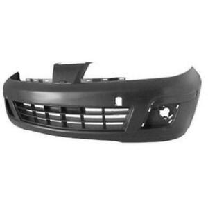New Painted 2007 2008 2009 2010 2011 2012 Nissan Versa Hatchback Front Bumper & FREE shipping