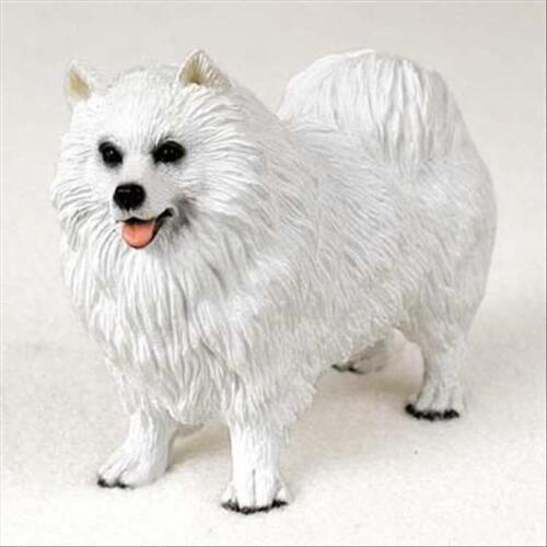Samoyed Dog Hand Painted Canine Collectable Figurine Statue