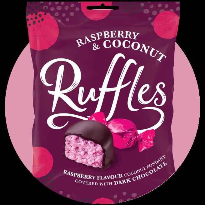 3 VALEO JAMESONS RASPBERRY RUFFLES Vegetarian Gluten Free Chocolates  Sweets🍬🥥 | eBay