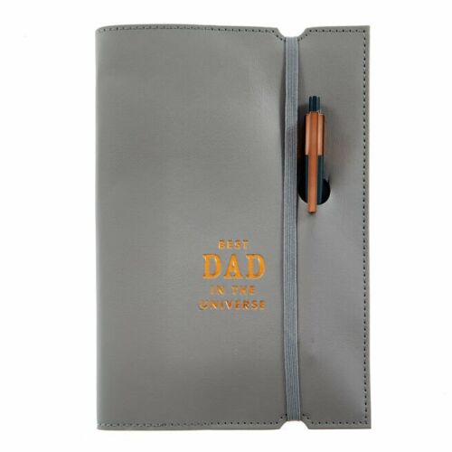 Birthday+Christmas+Present+Gift+Best+Dad+In+The+Universe+Notebook+%26+Pen+Set
