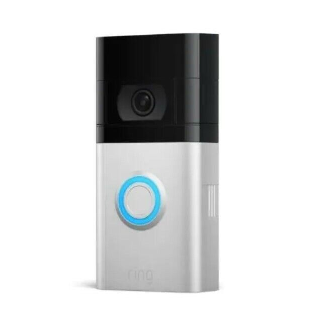 Ring Doorbell 4 1080p HD Wi-Fi Wired and Wireless Video Doorbell Free Shipping