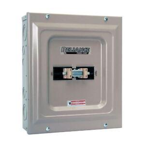 60-Amp Transfer Switch, New 15000-Watt Utility/Generator Manual Transfer Switch